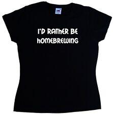 Prefiero ser homebrewing Ladies T-shirt