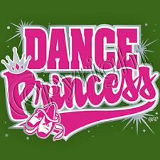 Dance Princess T Shirt  You Choose Style, Size, Color  Ladies  T Shirt  20074