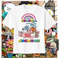 Amazing World of Gumball FIGHT Custom T-Shirt Personalize Birthday Tshirt Darwin