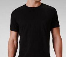 1 CALVIN KLEIN MEN'S COTTON BLACK CREW NECK T-SHIRT / UNDERSHIRT S M L XL