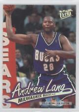 1996 Fleer Ultra Gold Medallion Edition #G-210 Andrew Lang Milwaukee Bucks Card