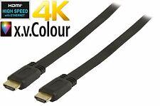 Ad alta velocità HDMI FLAT/PIOMBO rotonda v1.4 con Ethernet & alta qualità OFC conduttore