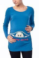 Umstandsmode süß witzig T-Shirt mit Motiv| Schwangerschaft Geschenk| Coming soon