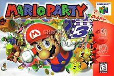 RGC Huge Poster - Mario Party Nintendo 64 N64 BOX ART - N64030