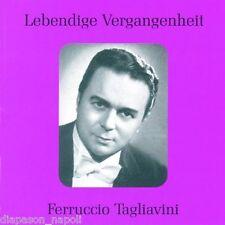 Ferruccio Tagliavini: Lebendige Vergangenheit - CD