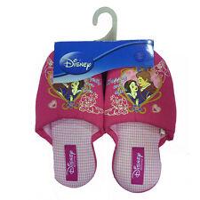 BLANCANIEVES pantuflas paño rosa e cuadrados varias tallas de niña disney