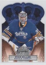 2010-11 Panini Crown Royale Ice Blue #14 Ryan Miller Buffalo Sabres Hockey Card