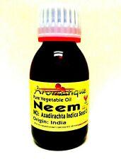 Neem Oil 100ml - 1000ml (1litre) 100% Pure & Natural Organic UK Certified Virgin