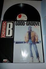 "DEREK B - Good Groove - 1988 UK 12"" Vinyl Single"