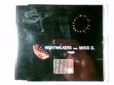 NIGHTWALKERS feat. MISS G. Magic cd singolo RARISSIMO