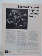 retro magazine advert 1981 JBL loudspeakers