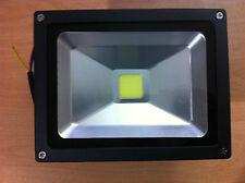 20w watt LED Security Floodlight Spotlight  50,000hrs Black New UK Seller