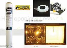 ORCA BLACK WHITE Mylar Film reflective sheeting hydroponics grow kit 1 to 10m