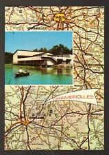 CHAMEROLLES (45) CENTRE DE LOISIRS , Carte Géographique