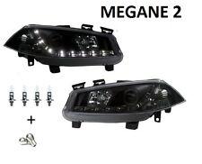 2 FEUX PHARE AVANT DEVIL EYES RENAULT MEGANE 2 A LED PHASE 1 02-05 + DCI