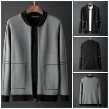 Men's Knitwear Jacket Sweater Cardigan Zipper Winter Knitting Shirts Knitted New