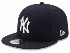 New Era 59Fifty New York NY Yankees 2017 Game Fitted Hat (Dark Navy) MLB Cap