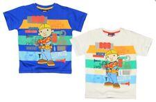 Bob der Baumeister~Gr. 98~110~116-122~Bob the builder~T-Shirt~weiss~blau~Junge