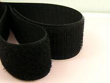 20CM x 2 pairs Black SEW On HOOK & LOOP Fastener TAPE STRAP 20mm 30mm 50mm 100mm