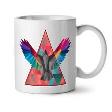 Geometric Bird Fashion NEW White Tea Coffee Mug 11 oz   Wellcoda