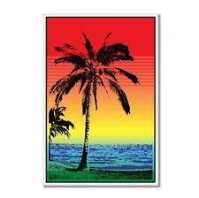Tropical Sunset Palm Car Vinyl Sticker - SELECT SIZE