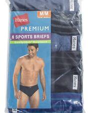 Hanes Men's Premium Comfort Soft waist band Sport Briefs 6 Pack