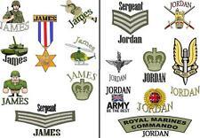Garçons Armée soldat tatouages personnalisé Loot Sac De Remplissage