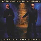 Willie Colon y Ruben Blades  Tras La tormenta CD New Nuevo