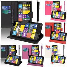 Etui Support Video Cuir PU Effet Tissu Nokia Lumia 1320/ RM-994/ RM-995/ RM-996