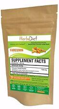 Turmeric Curcumin 95% Extract Pure High Quality Powder No Fillers Curcuminoids