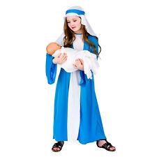 Child MARY Nativity Christmas Fancy Dress Costume School Play Girls Age 3-10