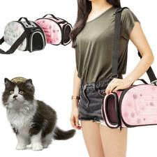 Bolso de Viaje para la pequeña Mascota Gato Bolsa de Transporte de Mano Portable