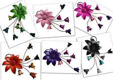Anhänger Leder Blumen Blüten Leder Margerite Blumenanhänger Lederblumenhänger