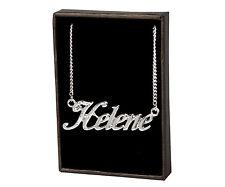 Collar de nombre Helene – 18K Chapado en Oro   El Dia De La Madre Regalo Regalo Único Colgante