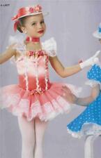 Dance Costume  Ballet Tap Peach Pageant Dress A Lady 58