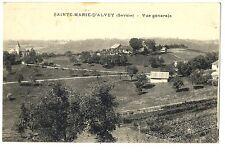 CPA 73 Savoie Sainte-Marie d'Alvey Vue générale