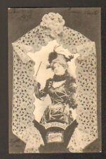 DENTELLE RENAISSANCE / DENTELLIERE en 1902