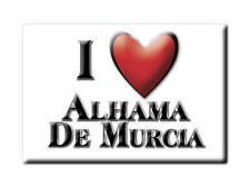 SOUVENIR ESPAÑA REGIÓN DE MURCIA MAGNET SPAIN ALHAMA DE MURCIA (MURCIA)