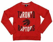 Outerstuff NBA Youth/Kid Toronto Raptors Performance Fleece Crew Neck Sweatshirt