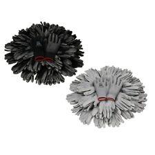 Set a scelta 24 coppie PU vari dimensioni S-XXL guanti meccanici nero / grigio