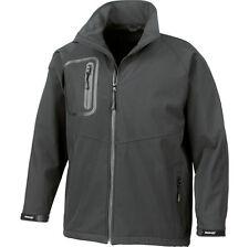 Mens Result Tech Performance Ultra Lite Softshell Waterproof Light Jacket Coat