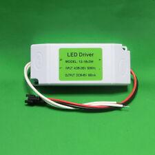 AC Driver 12~18x3W Power Supply +Shell LED Lamp Light Bulb 600mA 36W 45W 54W