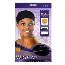 Medias de casquillo de la peluca qfitt-Negro