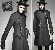 Manteau uniforme gothique militaire victorien dandy élégant hiver PunkRave Homme