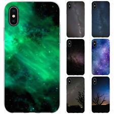 dessana Galaxie TPU Silikon Schutz Hülle Case Handy Tasche Cover für Apple