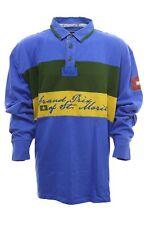 St Moritz Polosweat Pullover Polo Sweat Shirt Herren Langarm Extra Lang Tall