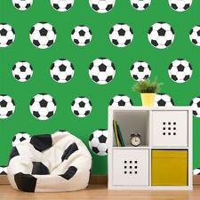 GOAL! FOOTBALL WALLPAPER GREEN 9723 BELGRAVIA DECOR KIDS BOYS ROOM FREE P+P