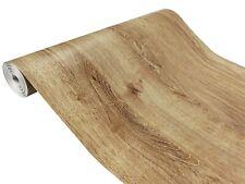 Klebefolie Holz Optik Eiche Selbstklebende Möbel Tür Küchen Folie 7€/m² Tapete