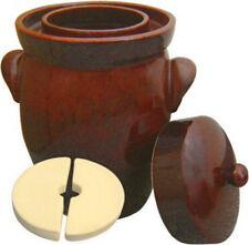 K&K Keramik German Gartopf Fermenting Crock Pot~ Hand Crafted in Germany ~ F-2
