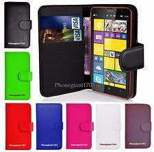 Libro Cartera Tapa Cuero Base Tarjeta Funda para Varios Nokia Lumia Teléfono